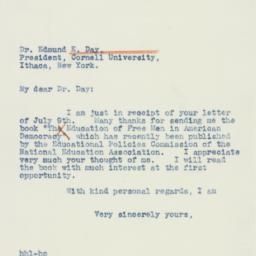 Letter : 1941 July 10