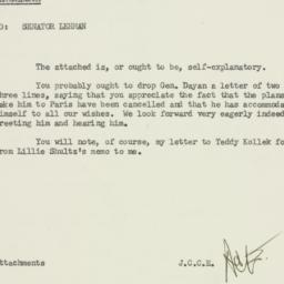 Memorandum : 1958 March 5