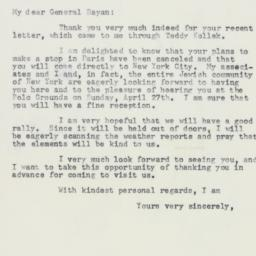 Letter : 1958 March 12