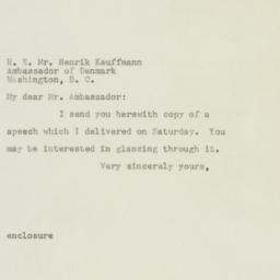 Letter : 1957 October 13