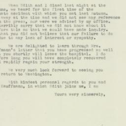 Letter : 1952 January 19