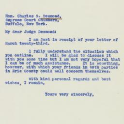 Letter : 1940 March 26