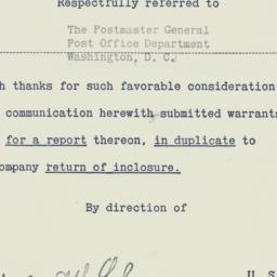 Administrative Record: 1952...