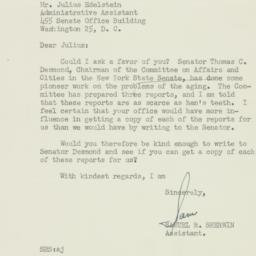 Letter: 1951 July 25