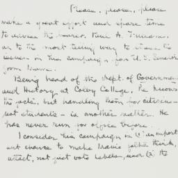 Letter : 1954 July 2