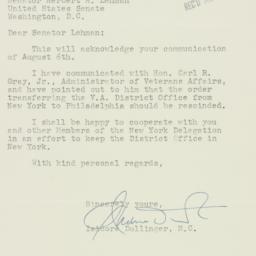 Letter : 1951 August 14