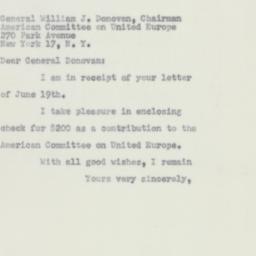 Letter : 1956 June 23