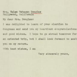 Letter : 1944 November 10