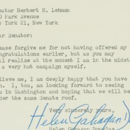 Letter: 1949 December 13