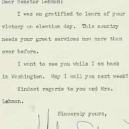 Letter: 1950 December 11