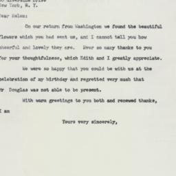 Letter: 1958 April 8