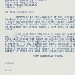Letter : 1941 November 13