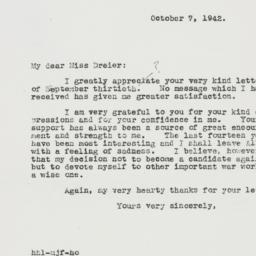 Letter : 1942 October 7