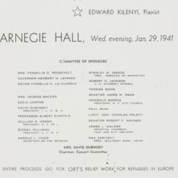 Pamphlet : 1941 January 29