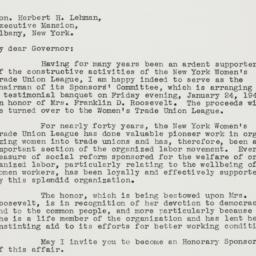Letter : 1940 November 9