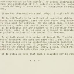 Press release : 1955 October 4