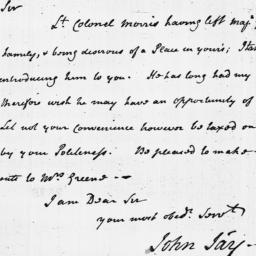 Document, 1779 May 20