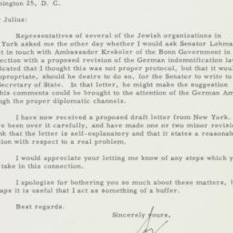 Letter : 1955 October 18