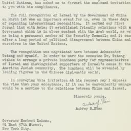Letter : 1949 March 10