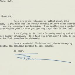 Letter : 1949 December 23