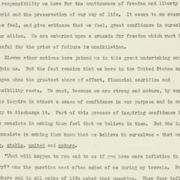 Speech : 1951 July 10