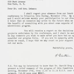 Letter : 1946 November 13