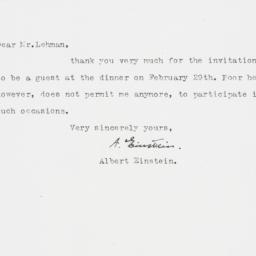 Letter : 1948 January 20