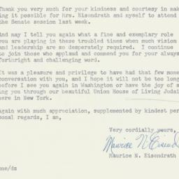 Letter : 1954 November 17