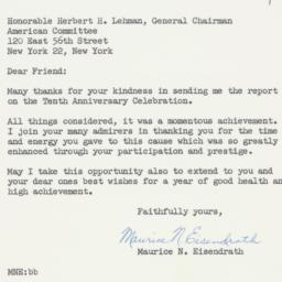 Letter : 1958 September 4