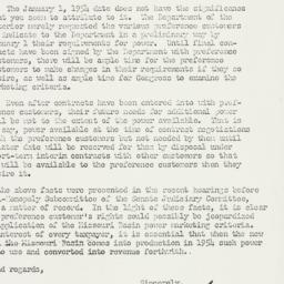 Letter : 1954 January 5