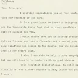 Letter : 1938 October 3
