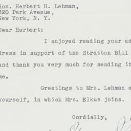 Letter : 1947 August 12