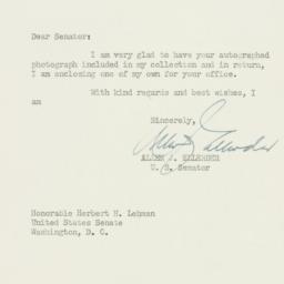 Letter : 1950 December 2
