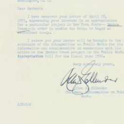 Letter : 1955 April 29