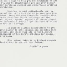 Letter : 1961 September 30