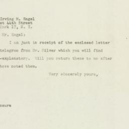 Letter : 1948 June 15