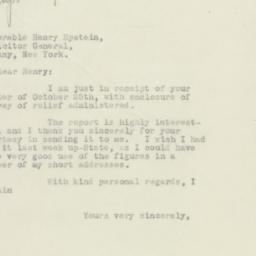 Letter : 1932 November 1