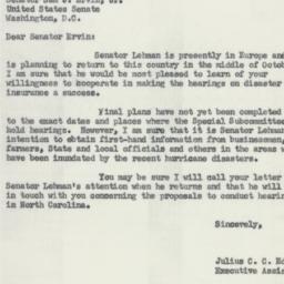 Letter : 1955 September 28