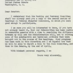 Letter : 1956 April 6