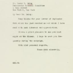 Letter : 1946 October 2