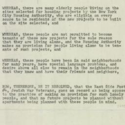 Memorandum : 1954 December 19
