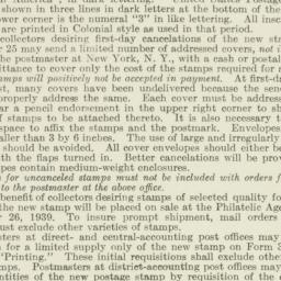 Administrative Record: 1939...