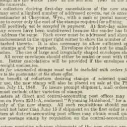 Administrative Record: 1940...