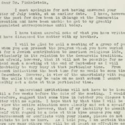 Letter : 1940 July 20