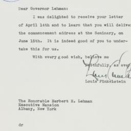 Letter : 1941 April 16
