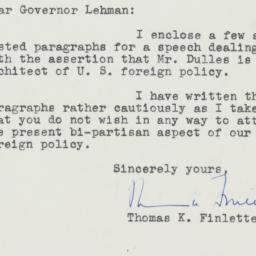 Letter : 1949 October 7