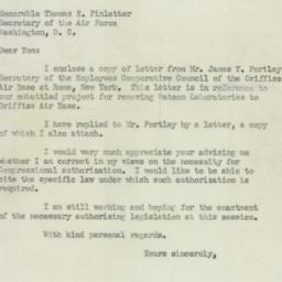 Letter: 1950 August 22