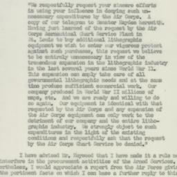 Letter: 1950 August 29