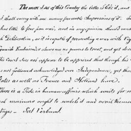 Document, 1782 September 26