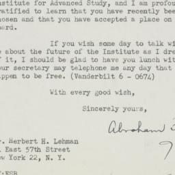 Letter : 1949 January 17